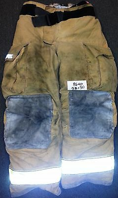 38X30 Pants Firefighter Turnout Bunker Fire Gear w/ Liner Globe Gxtreme P640