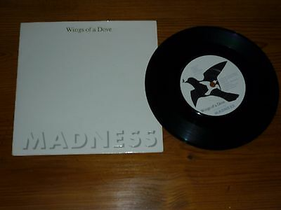 """Madness - Wings Of A Dove 7"""" Inch Single Vinyl Record 45Rpm Picture Sleeve"""
