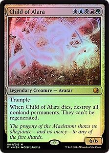 MTG FOIL Child of Alara [ English, From the Vault: Annihilation, Free P&P ]