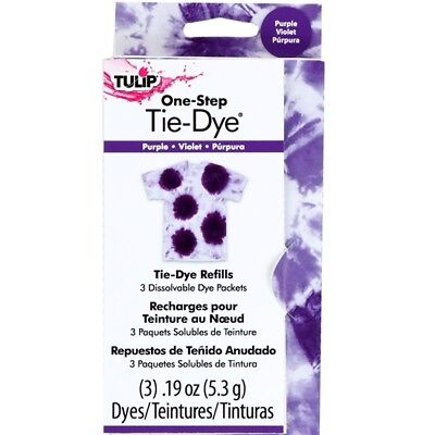 Tulip One StepTie Dye Refill - BEST VALUE IN EUROPE - Cold water, Fabric, Dylon