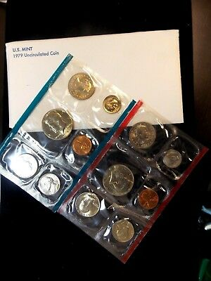 "1979 U.S. MINT UNCIRCULATED SET ""P & D""  East Coast Coin & Collectables, Inc."