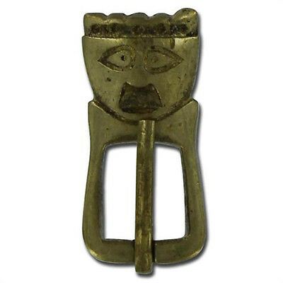 Medieval Early Anglo-Saxon King Brass Reniassance Costume Clothing Buckle
