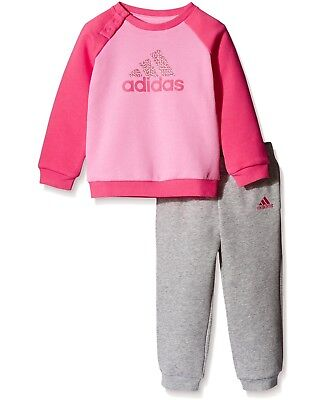 Adidas Infant Baby Girls Tracksuit