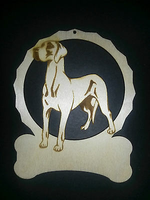 Personalized Great Dane dog ornament