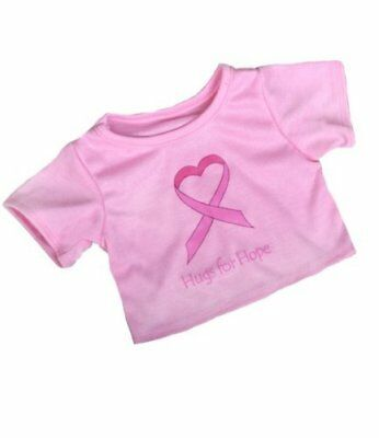 """Hugs for Hope T-Shirt Teddy Bear Clothes - Fits Most 14""""-18"""" Build-a-Bear & More"""
