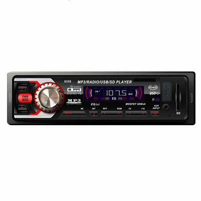 Bluetooth Car In-Dash Stereo FM Radio Audio Receiver MP3 Player SD USB Aux 8258