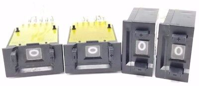 Lot Of 4 Eaton Corp. Durant 48210-401 Switches Bi-Di Assembly Bcd Dip Connection