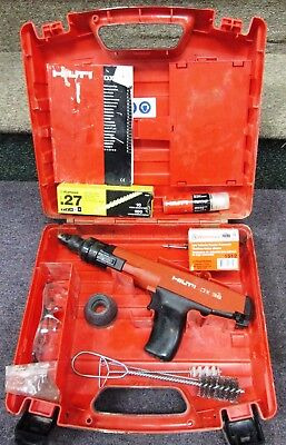 Hilti DX 36 Semi Automatic Powder Actuated Fastening Tool With Case NR