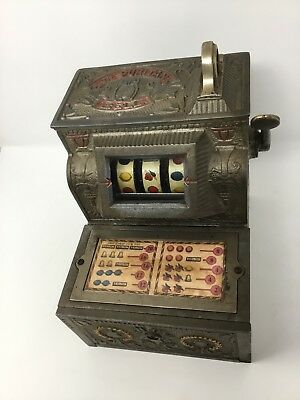 Antique Puritan Bell Nickel Five Cent Slot Machine