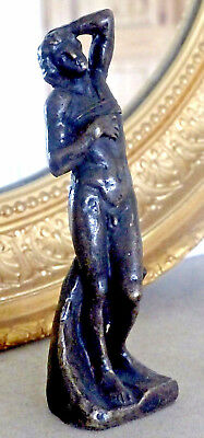 Bronze French Nude Male Boy Sculpture - Young Slave Figure  - Gay Interest