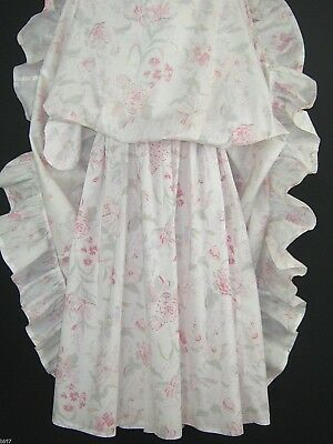 Laura Ashley Vintage Pastel Spring Carnation & Foxglove Special Dress,9-10 Yrs