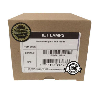 IET Lamps Ushio Inside Genuine Original Replacement Bulb//lamp with OEM Housing for HITACHI CP-X1250 Projector