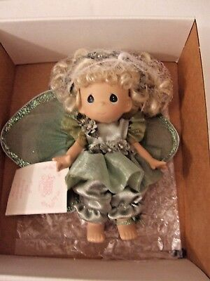 """2001 Precious Moments """"fairy Of Happiness"""" Girls Doll"""
