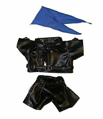 "Biker Outfit Teddy Bear Clothes - Fits Most 8""-10"" Make Your Own Stuffed Animals"