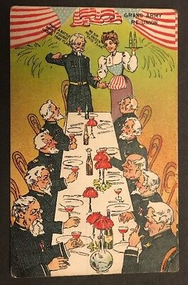 c1910 Pond's Bitters Co Chicago Advertising Risque AMERICANA Trade Card