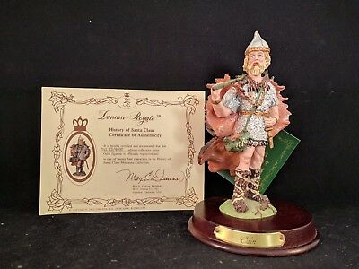Duncan Royale MINIATURE, Odin, History of Santa Clause, 1ST Edition
