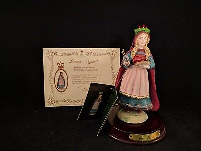 Duncan Royale St Lucia History of Santa Claus Figurine 1ST EDITION