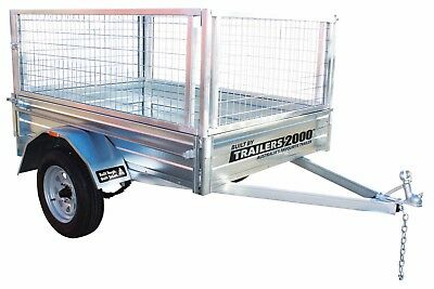 6x4 Gal Trailer and Cage