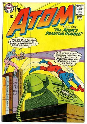 Atom #9 NM- 9.2 off-white pages  DC  1963  No Reserve