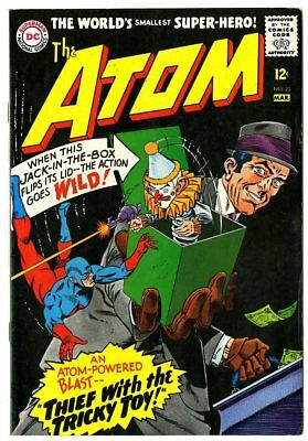 Atom #23  centerfold loose, otherwise VF/NM 9.0  DC  1966  No Reserve