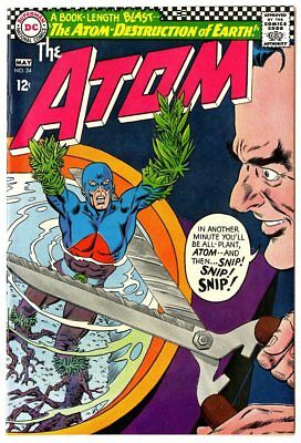 Atom #24 NM- 9.2 ow/white pages  DC  1966  No Reserve