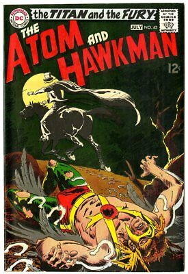 Atom & Hawkman #43 NM- 9.2 off-white pages  DC  1969  No Reserve