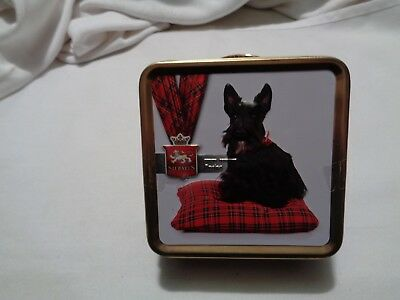 New SCOTTIE dog image on tin of Stewart's scottish fudge Adorable and Delicious