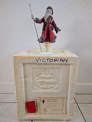 """Duncan Royale History Santa Claus """"VICTORIAN"""" Figurine SIGNED"""