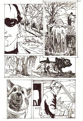 Sight Unseen [horror] page by Bo Hampton