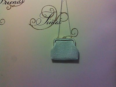 Retro Vintage 60's-70's YUEWTON White MESH Style Shoulder clutch Bag