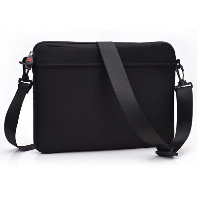Neopene Removable Shoulder Strap Notebook Laptop Tablet Sleeve Messenger Bag