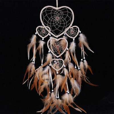 Vintage Dream Catcher With Feather Car or Wall Hanging Ornament Decoration