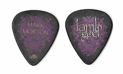 Lamb of God multi-color on black Guitar Pick #2