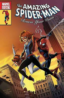 Amazing Spider-Man Renew Your Vows #13 Lenticular Heroes Variant Legacy Nm