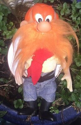 Vintage Yosemite Sam Doll Looney Tunes R. Dakin San Francisco 1970 NO HAT