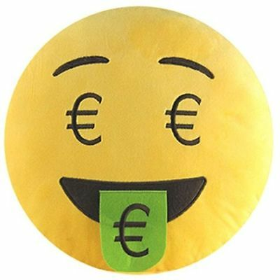 Emoticonworld Cojin Emoticono Euro 32 Cm | Emoticonworld