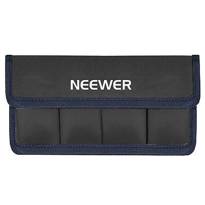 Neewer DSLR Battery Bag Storage Holder Case for AA Battery and Nikon Sony Canon