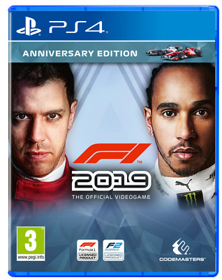 F1 2019 Anniversary Edition Ps4 Gioco Play Station 4 Italiano Formula Uno Nuovo