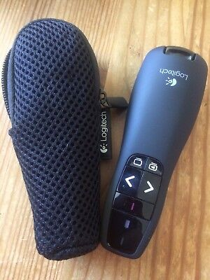 Logitech Wireless Presenter R400 USB Schwarz