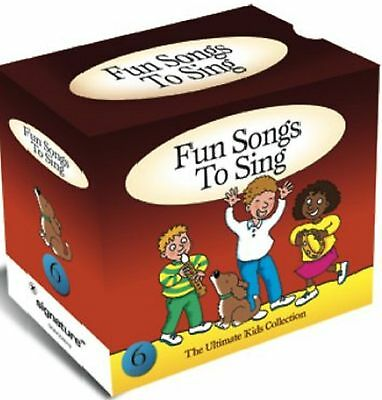 Fun Songs To Sing - Super 6 Cd Set Over 100 Songs - Children's - Free Post In Uk