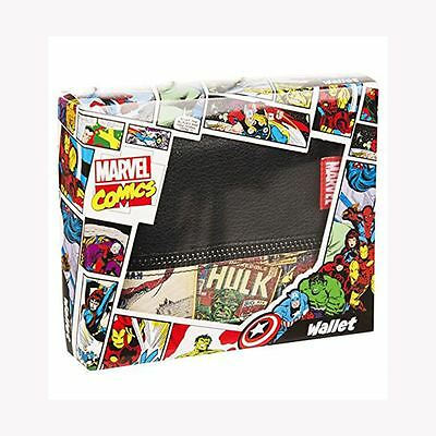 Marvel Comics Retro Wallet New Official In Gift Box