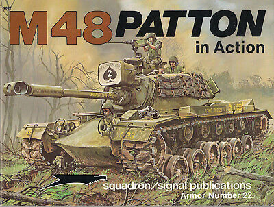 P01 M48 PATTON in Action, Armor Nr. 22, 1984, Jim Mesko