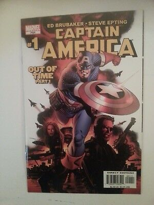 Captain America Vol.5 #1 (Cameo app. of Winter Soldier) NM