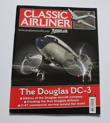 Aeroplane Monthly Classic Airliner Douglas DC-3 DC1,DC2,C-47