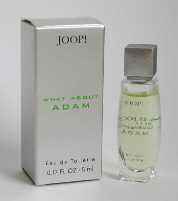 Joop What About Adam Eau de Toilette EDT 5 ml  Neu & OVP