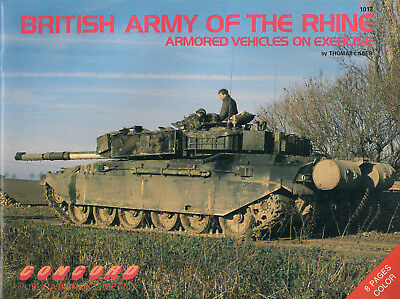 P10 BRITISH ARMY OF THE RHINE, Armored Vehicles on exercise, 1991, Tanks, Panzer