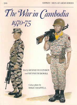 P17 Osprey Men-At-Arms Series 209: The War in Cambodia 1970-75, 1989