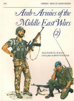 P18 Osprey Men-At-Arms Series 194: Arab Armies of the Middle East Wars (2), 1988