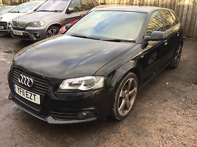 2011 Audi A3 2.0 Tdi S Line Black Edition Hatchback Non Runner Spares Or Repair