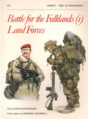 P21 Osprey Men-At-Arms Series 133: Battle for the Falklands (1) Land Forces